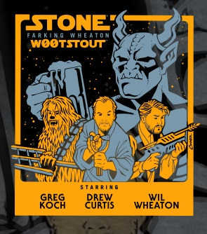 Stone Woot Stout, Sunday, November 6th @ 6pm