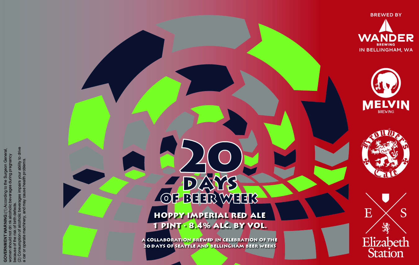 """Friday, April 14th """"20 days of Beer Week"""" Draft and Can Release with Melvin, Wander and Elizabeth Station!"""