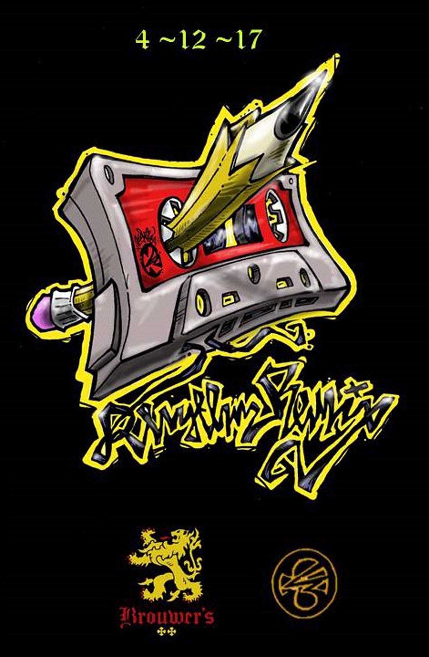 "Wednesday, April 12th @ 6pm ""Rhythm Remix"" with Artist Sensei 23"