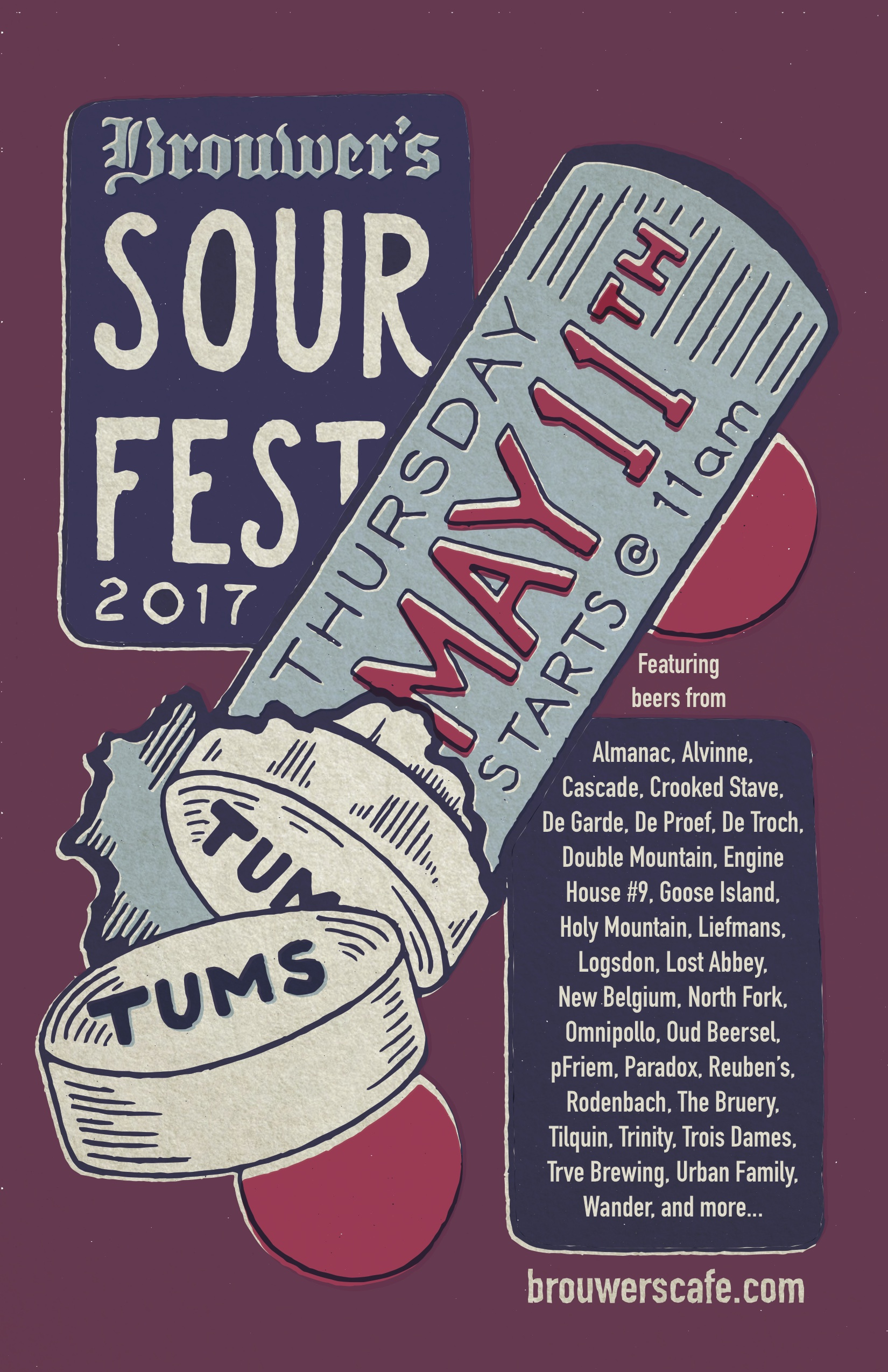 Thursday, May 11th @11am Sour Fest