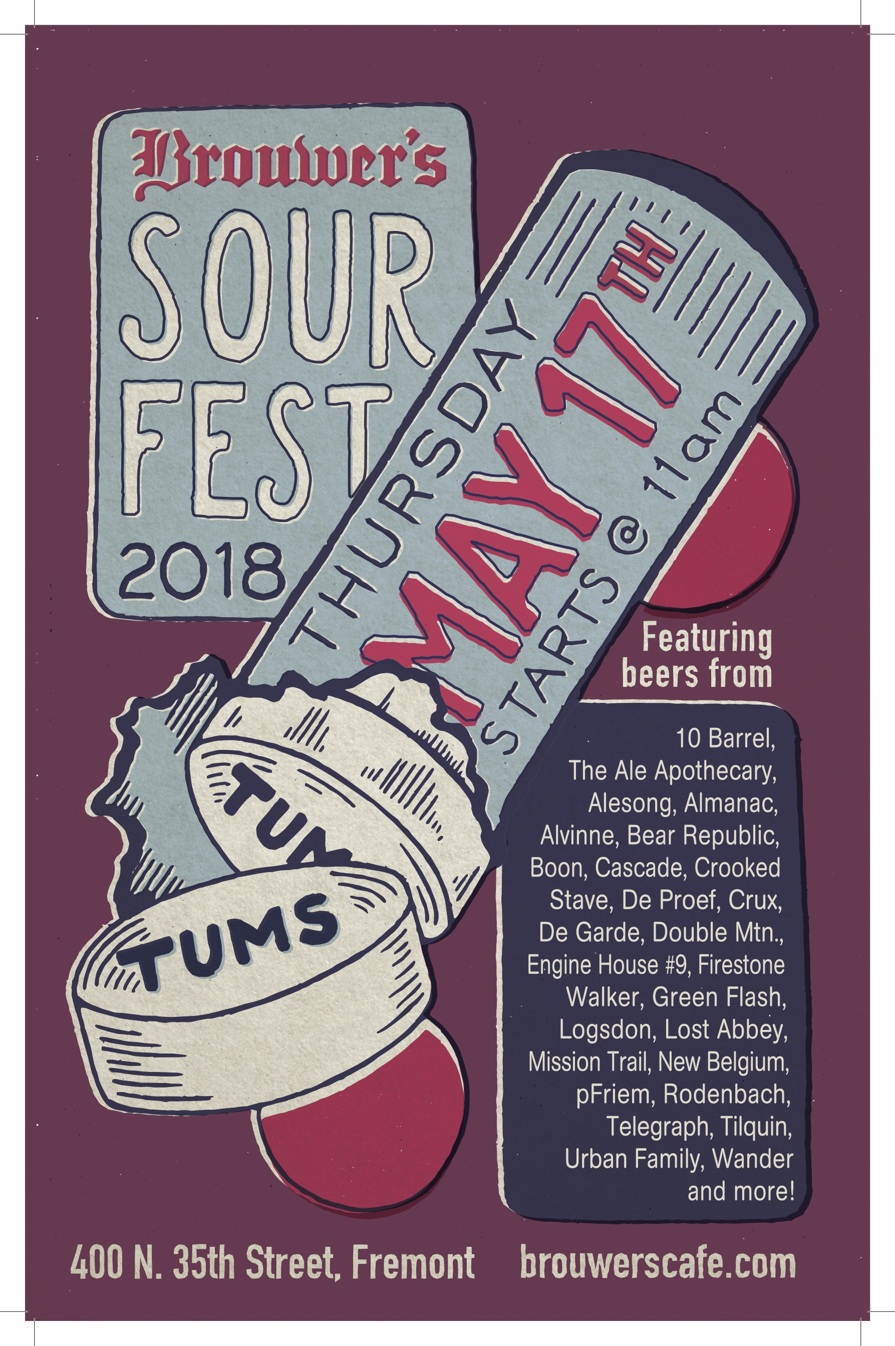 Thursday, May 17th @11am Sour Fest