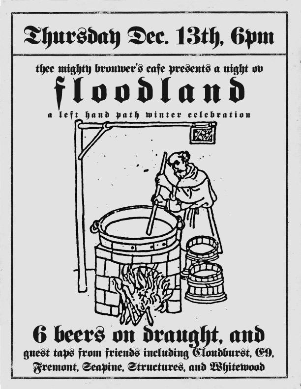 Thursday, December 13th @ 6pm, Floodland Brewing presents It's a King Diamond Xmas