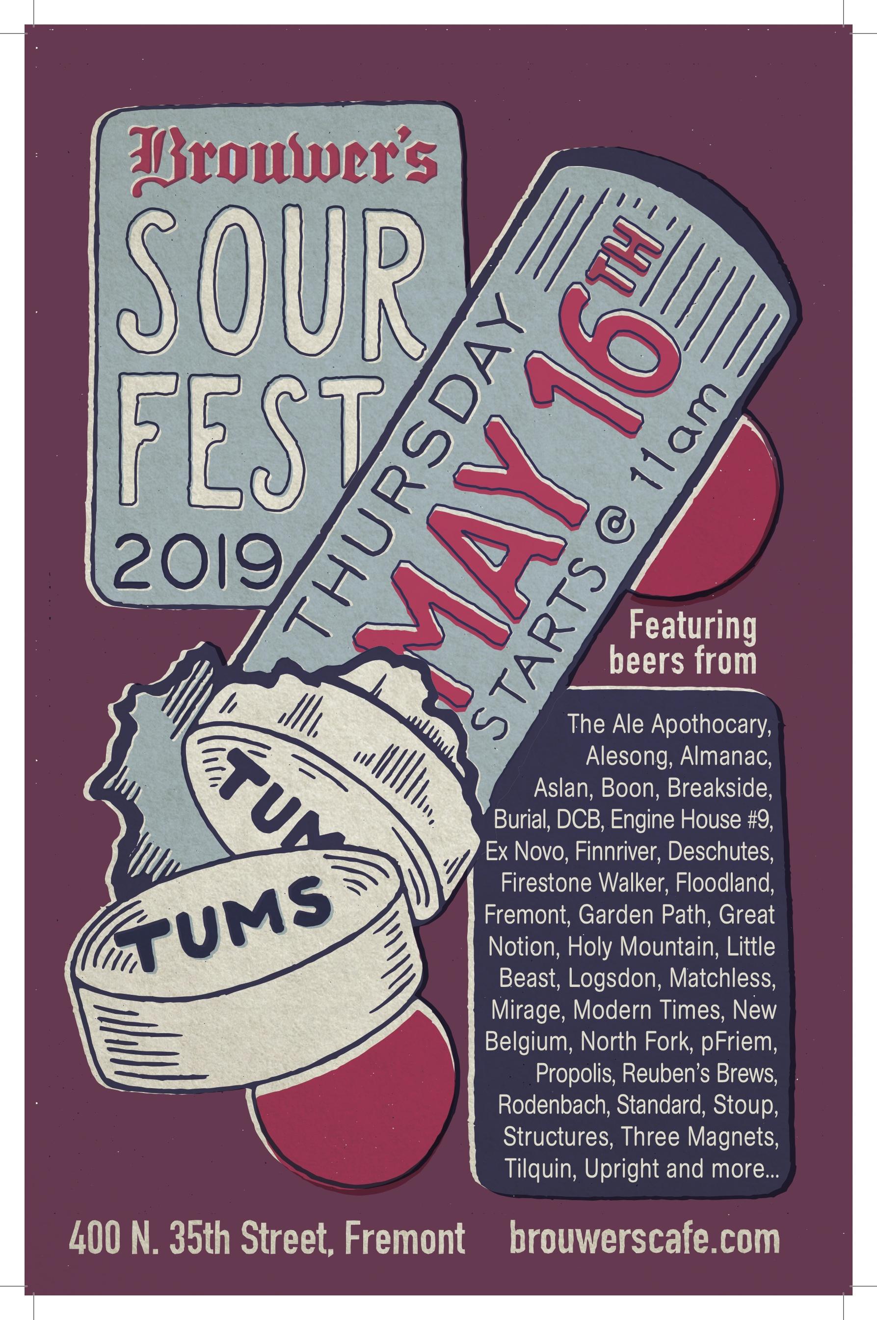 Thursday, May 16th @ 11am, Sour Fest